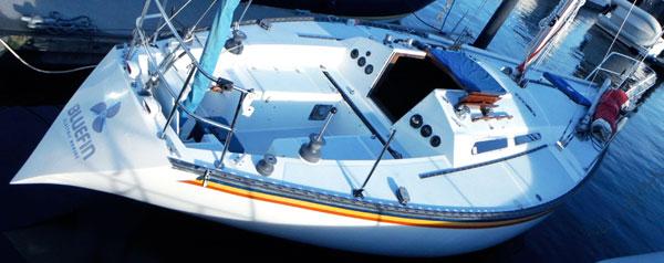 An Original Electric Sail Boat Conversion