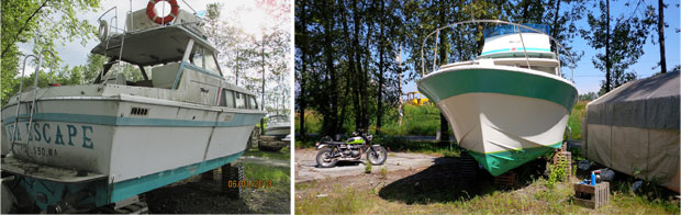 A diamond in the rough. Our next electric boat conversion.